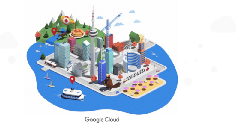 toronto data center google